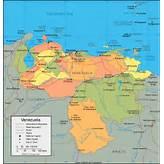 Venezuela Map and Satellite Image