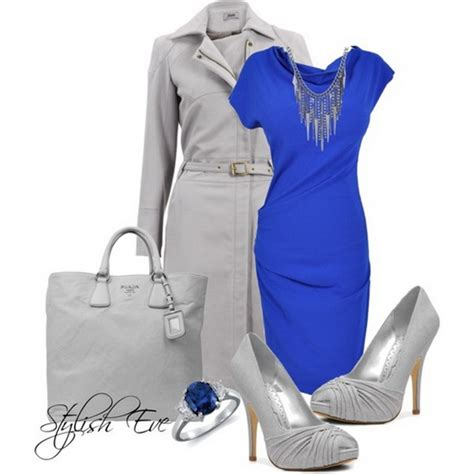 Blue Winter 2013 Outfits for Women by Stylish Eve - Stylish Eve