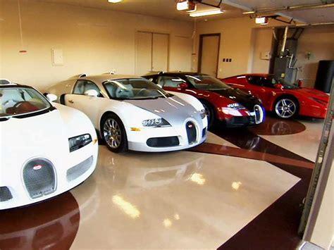 Floyd Mayweather Cars Worth 15 Million Sitting In Garage