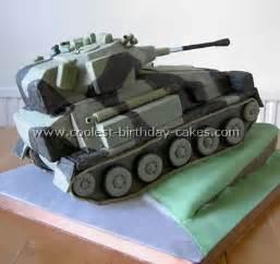 Army Tank Birthday Party Cake
