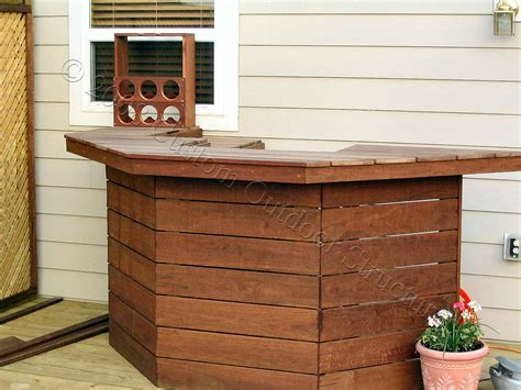 triyae custom outdoor bars for home various design