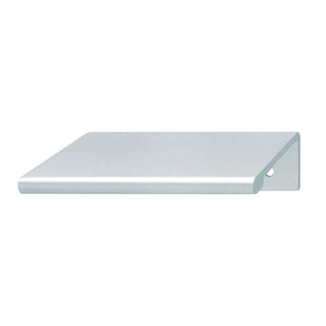 hafele cabinet pulls for mirrored doors hafele cabinet and door hardware 124 02 920 edge pull