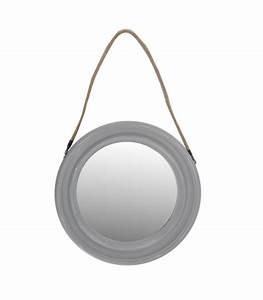 Miroir Rond Corde : miroir rond corde tresse ~ Teatrodelosmanantiales.com Idées de Décoration