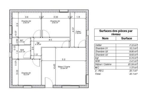 surface minimum pour une chambre définition de la surface habitable par les hauteurs de