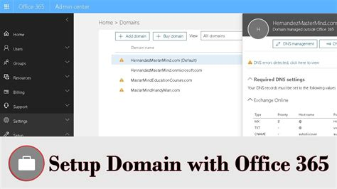 Office 365 Domain by How To Add Domain To Office 365