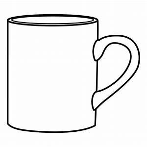 Mug Coloring Sheet Coloring Pages