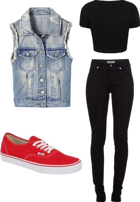 25+ best ideas about Red vans outfit on Pinterest
