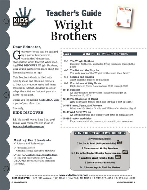 the wright brothers unit studies and free printables