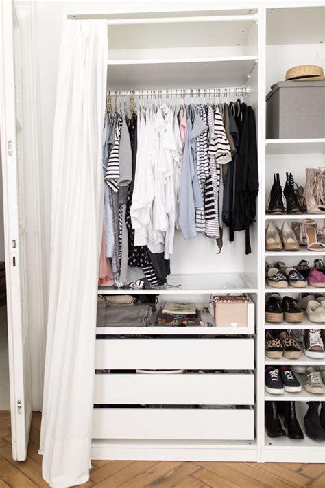 Ikea Offene Kleiderschränke by Offene Kleiderschranksysteme Kleiderschrank Mit Vorhang
