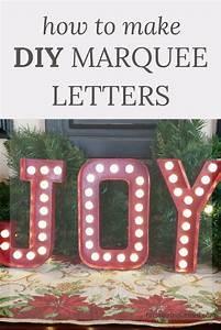 how to make diy marquee letters farm girl reformed With how to make marquee letters