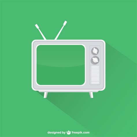 Tv Vector Template by Vintage Television Vector Free Download