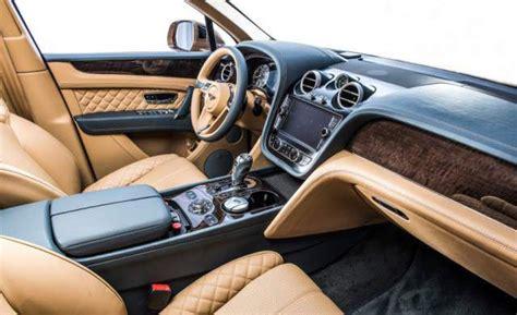 new bentley interior 2018 bentley bentayga review 2018 2019 best suv