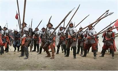 Musketeers Soldiers Spanish Bbc 3x01 Stills Episode