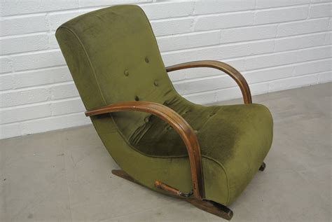 1930 s bentwood banana rocking chair home alchemy