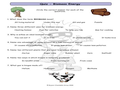 6th grade science energy resources worksheets 6th