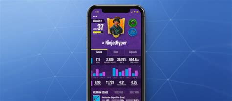 fortnite battle royale mobile companion app