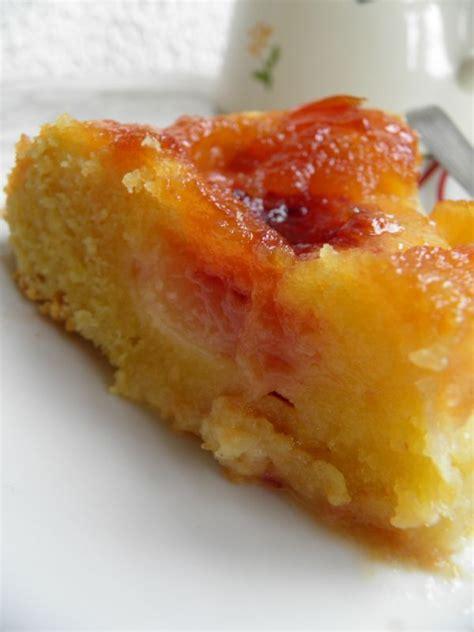 recettes dessert avec peches fraiches g 226 teau aux p 234 ches caram 233 lis 233 aux d 233 lices du palais les recettes d une passionn 233 e