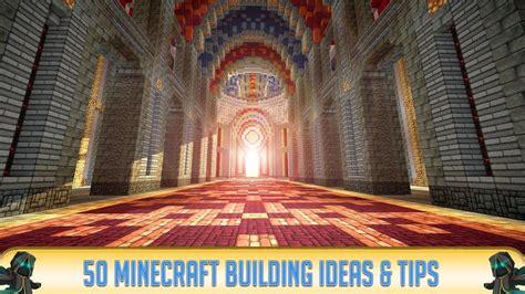 minecraft  minecraft building ideas tips   youtube