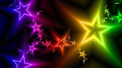 Colorful Wallpapers Stars Star Backgrounds Abstract Rainbow