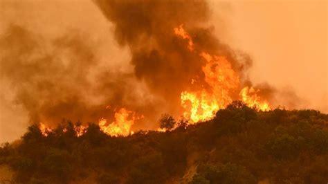 fires burning  california