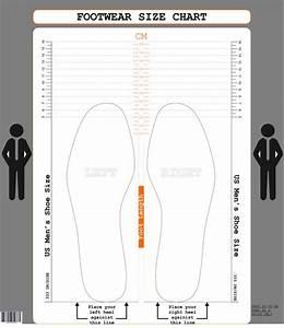 Us Men U0026 39 S Size    Cm Printable Shoe Size Chart Foot