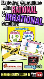 126 Best Rational Vs Irrational  S Images On Pinterest