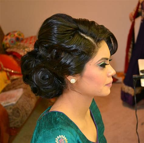 updo  indian wedding google search hair