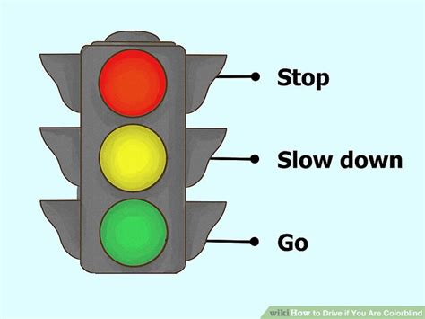 traffic light colors 3 ways to drive if you are colorblind wikihow