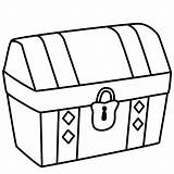 Coloring Treasure Chest Pages Pirate Craft Preschool Crafts Pirates Bigactivities sketch template
