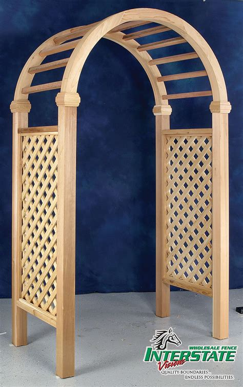 deluxe arbor interstate wholesale fence
