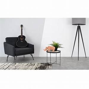 Tapis En Coton : tapis en coton gris cru tiss main gheer ~ Nature-et-papiers.com Idées de Décoration