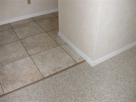 Carpet To Tile Transition Strips by Tile To Carpet Transition A Look At The Best Options For