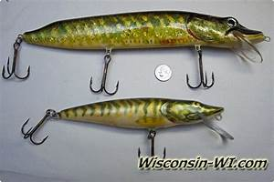 Musky Fishing Lures, Baits, Tackle & Gear used in Wisconsin
