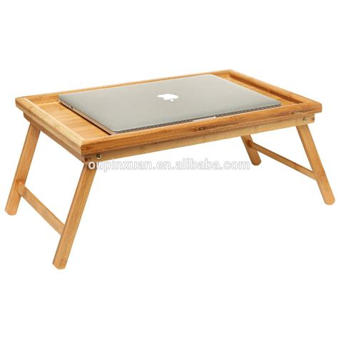 folding lap tray table folding bed tray table and breakfast tray bamboo bed table