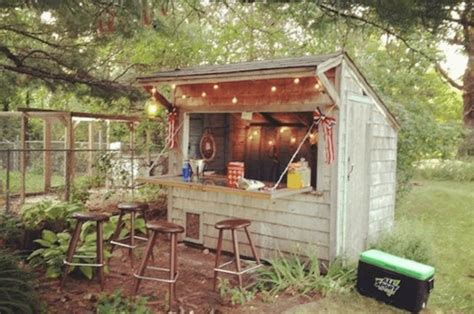 Backyard Saloon by Forget Caves Backyard Bar Sheds Are The New Trend