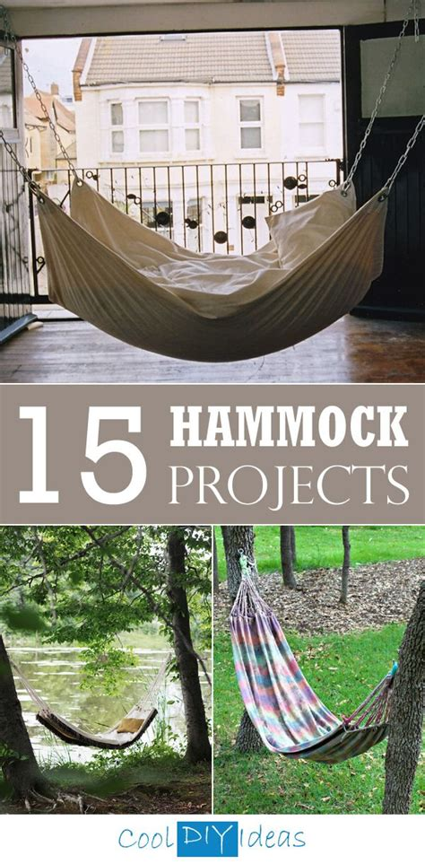Hammock Posts Diy by 15 Gorgeous Hammock Projects That You Can Make Yourself