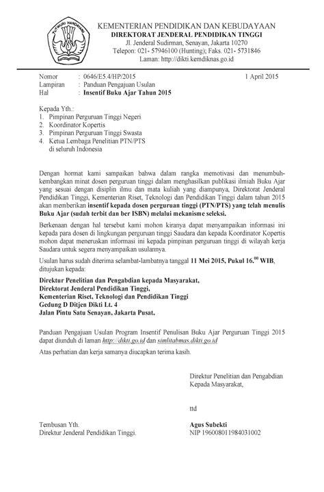 EDARAN INSENTIF BUKU AJAR 2015 – Pusat Penelitian