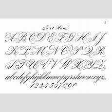 Fancy Cursive Letters Gplusnick