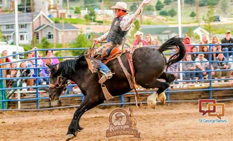 celebrate pioneer day   bryce canyon country rodeo
