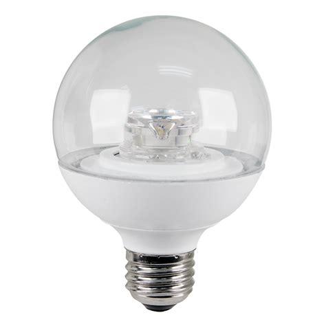 4 led light bulbs shop utilitech 4 watt 25w equivalent medium base warm