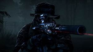 Wallpaper Sniper Battlefield 4 Night Operations 4K