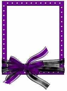 Purple Frame Clip Art Png - ClipArt Best