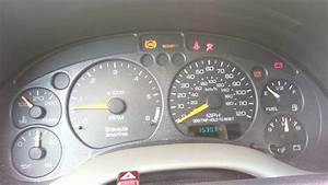 Dash Warning Lights Problem  2000 Oldsmobile Bravada