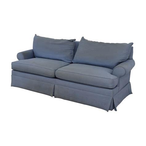 ethan allen sofa 2 cushion 54 ethan allen ethan allen blue two cushion sofa