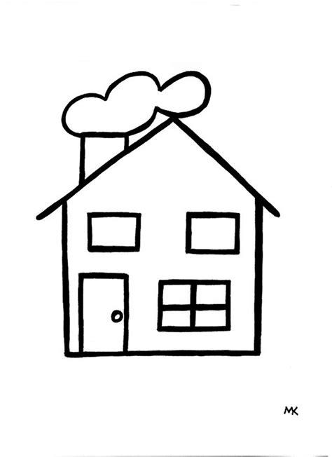 Huizen Kleurplaat by Kleurplaat Huis Zoeken De Straat