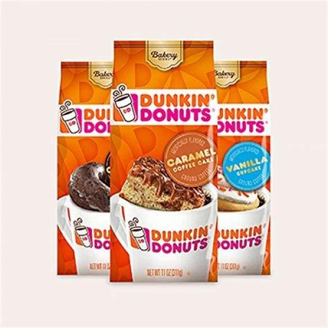 Using your fingers, or tongs fully submerge each doughnut in the glaze. Shop Dunkin' Donuts Bakery Series Ground Coffee, Cinnamon ...