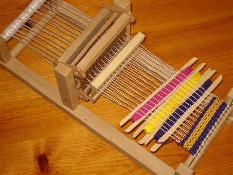wooden weaving loom plans diy     build