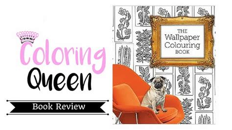 wallpaper colouring book adult coloring book review