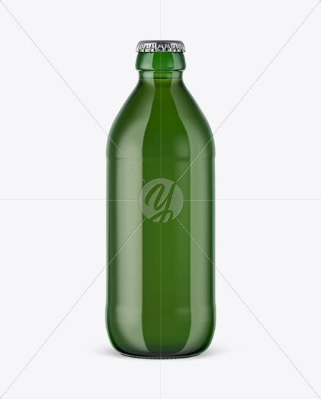 Free beer bottle mockup is now available. 330ml Green Glass Beer Bottle Mockup in Bottle Mockups on ...