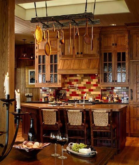 deco cuisine rustique maison rustique au charme authentique cagnard en